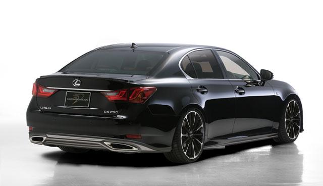 2013-lexus-gs 250-rear