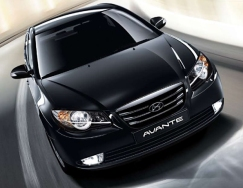 Hyunda Avante car rental