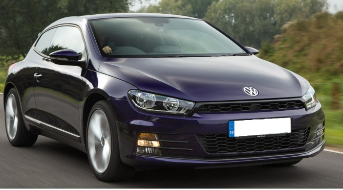 Scirocco frt view