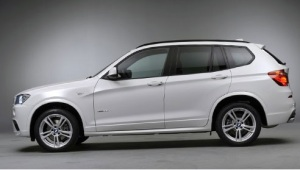 BMW X3 Side View
